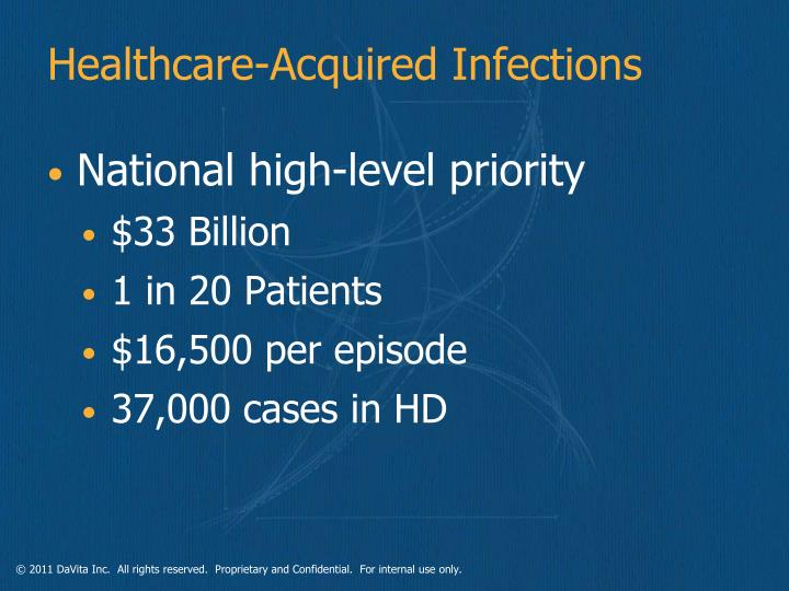 Healthcare-Acquired Infections