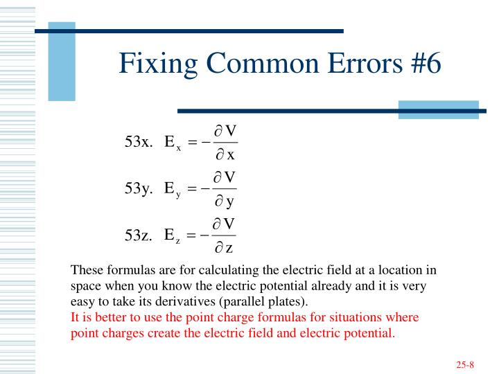 Fixing Common Errors #6