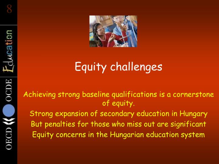 Equity challenges
