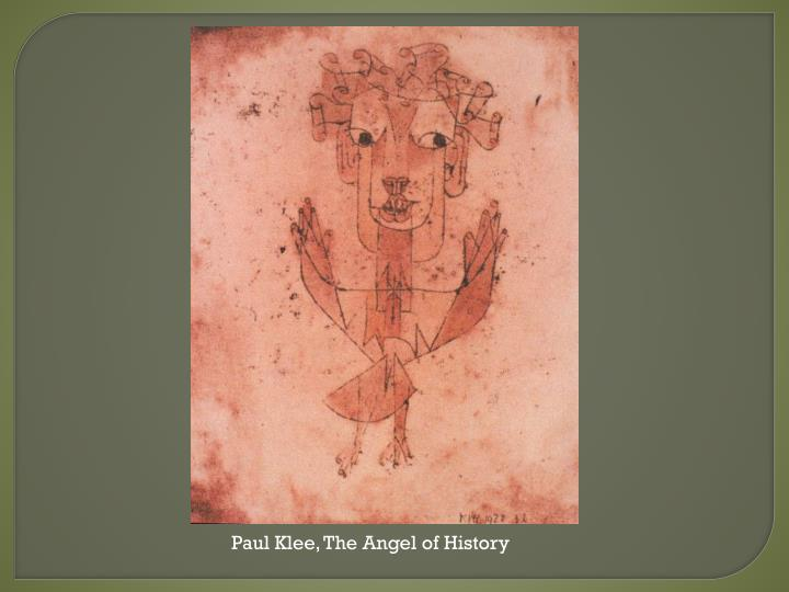 Paul Klee, The Angel of History