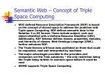 semantic web concept of triple space computing1