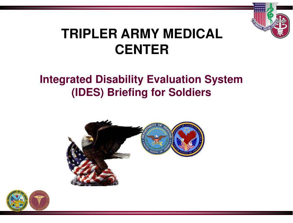 ppt integrated disability evaluation system ides briefing for