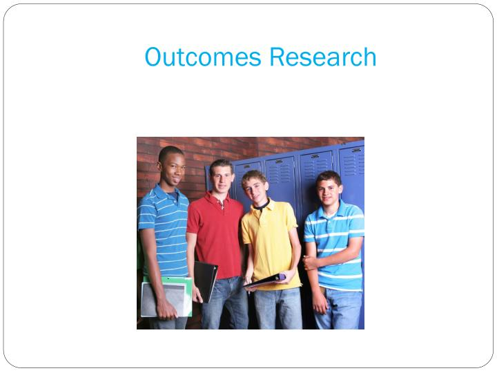 Outcomes Research