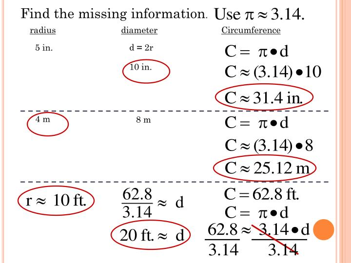 Find the missing information