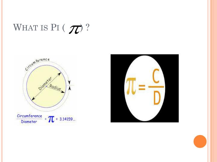 What is Pi (      ) ?