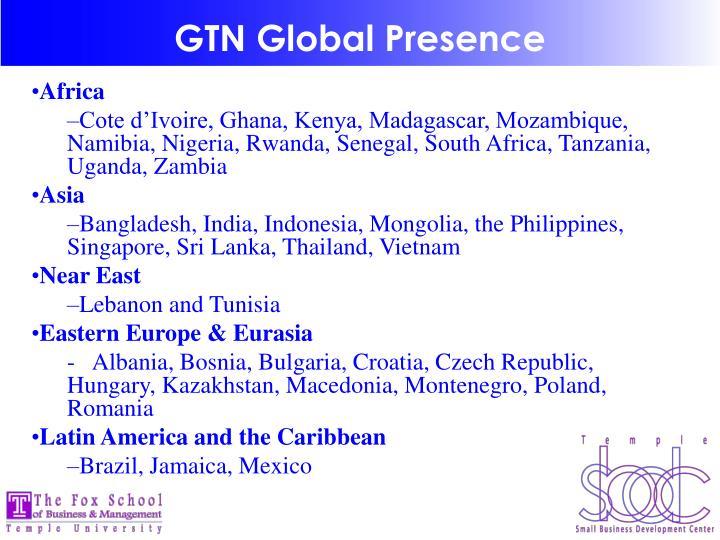 GTN Global Presence