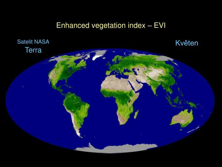 Enhanced vegetation index – EVI