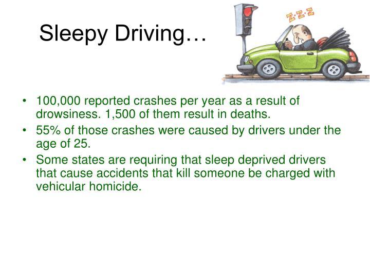 Sleepy Driving…
