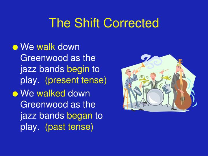 The Shift Corrected