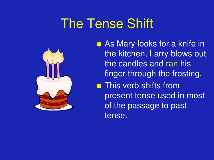 The Tense Shift