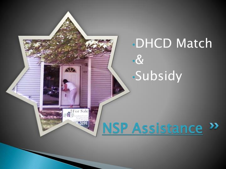 NSP Assistance