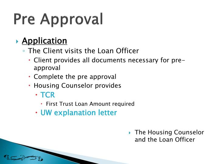 The Housing Counselor and the Loan Officer