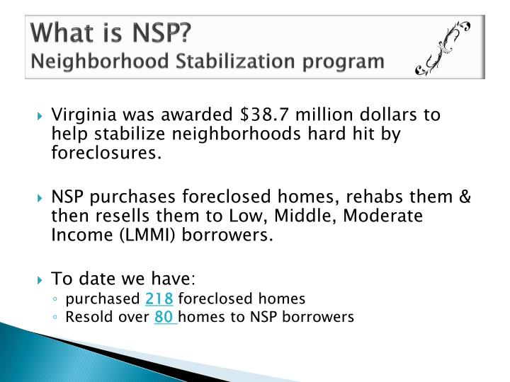 What is NSP?