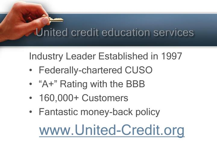 United credit education services