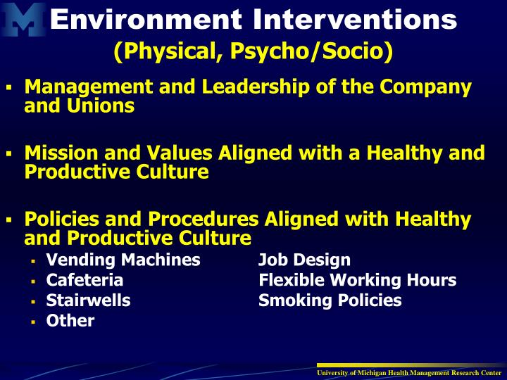 Management and Leadership of the Company and Unions