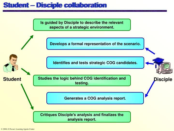 Student – Disciple collaboration