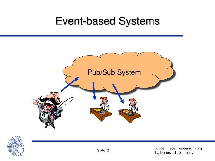 Event based systems
