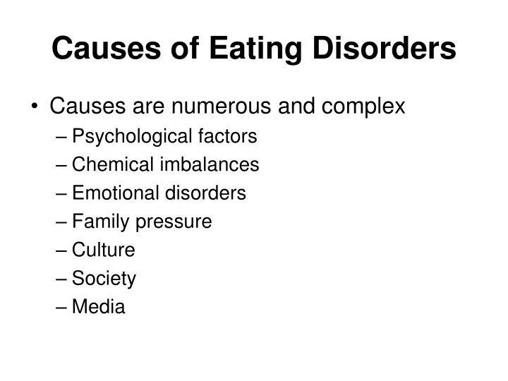 Causes of Eating Disorders
