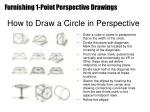 how to draw a circle in perspective