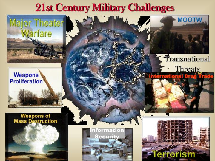21st Century Military Challenges