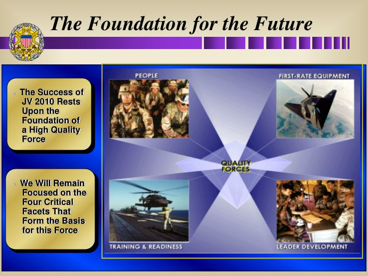 The Foundation for the Future