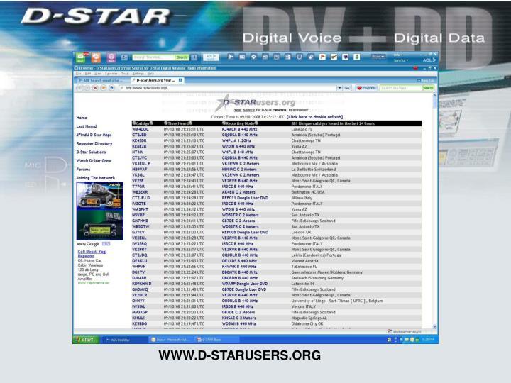 WWW.D-STARUSERS.ORG