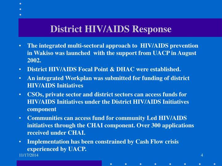 District HIV/AIDS Response