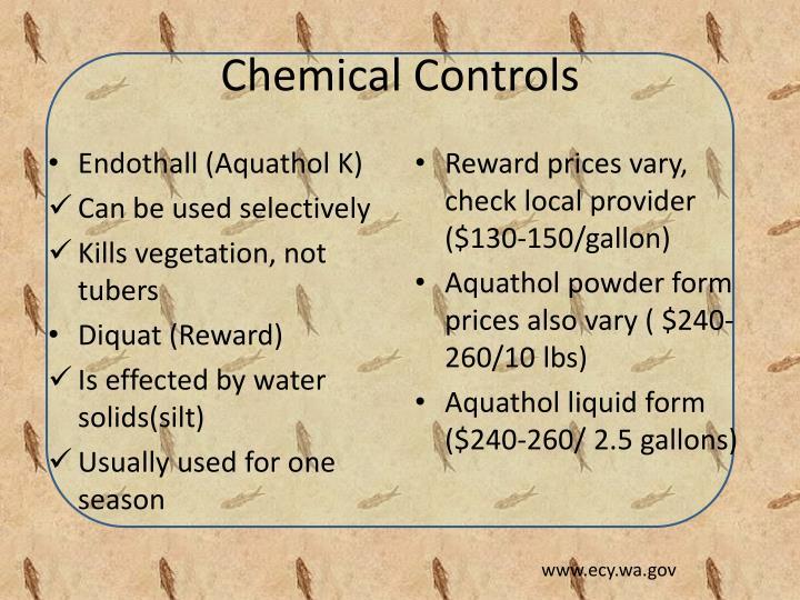 Chemical Controls