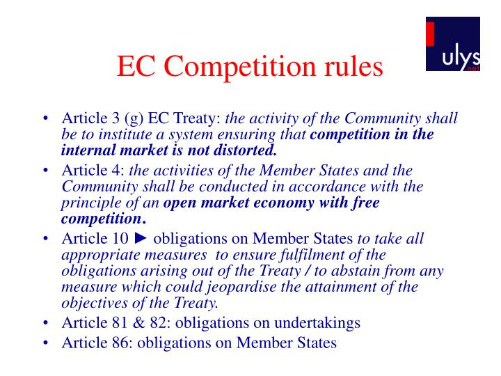 EC Competition rules