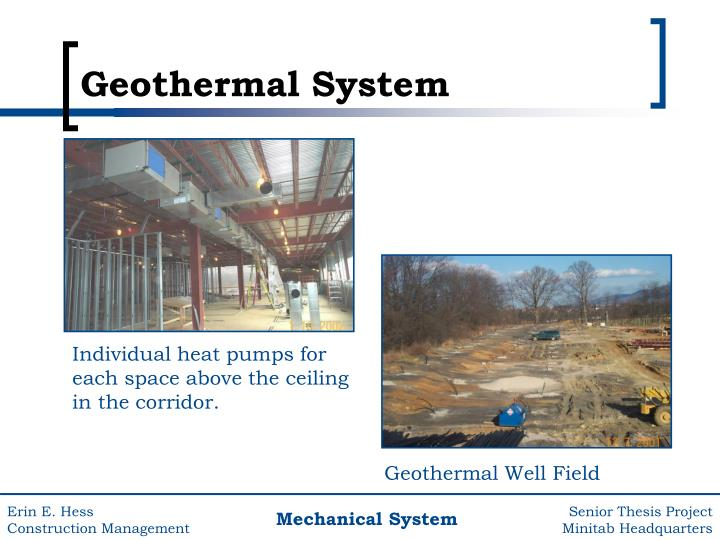 Geothermal Well Field