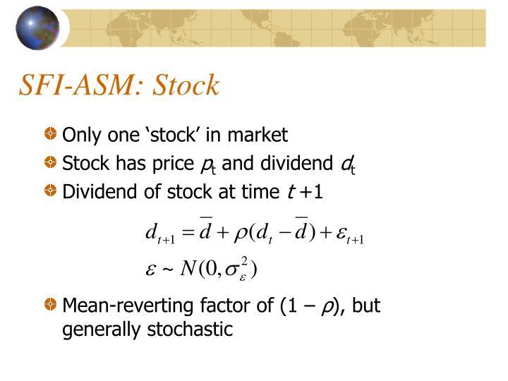 SFI-ASM: Stock
