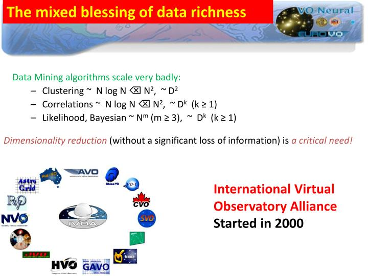 The mixed blessing of data richness