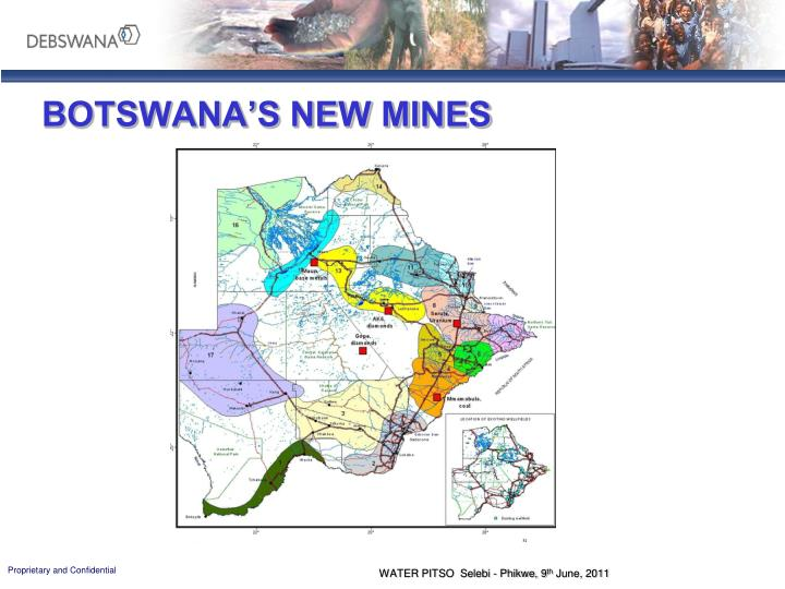 BOTSWANA'S NEW MINES