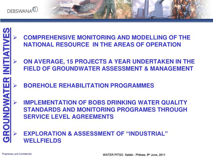 Comprehensive Monitoring and