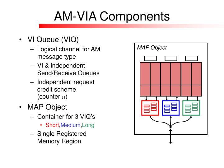 AM-VIA Components