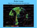 radar loops http vortex plymouth edu nids html