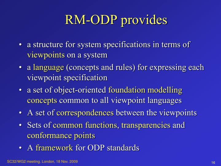 RM-ODP