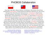 phobos collaboration