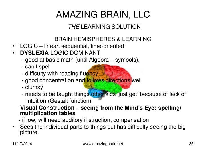 AMAZING BRAIN, LLC