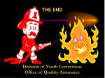 the end division of youth corrections office of quality assurance