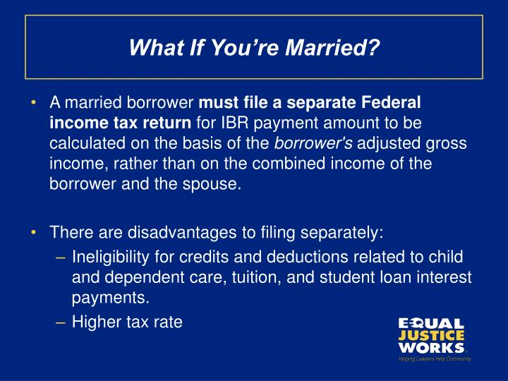 What If You're Married?