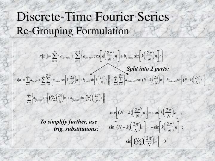 Discrete-Time Fourier Series