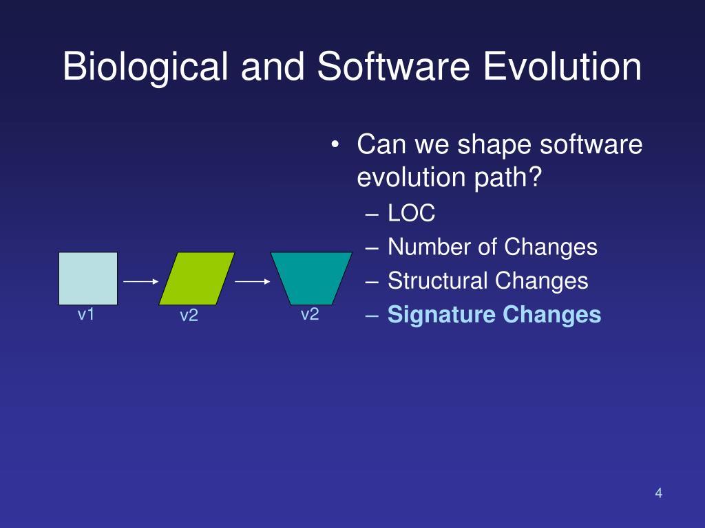 PPT - Signature Change Analysis PowerPoint Presentation - ID