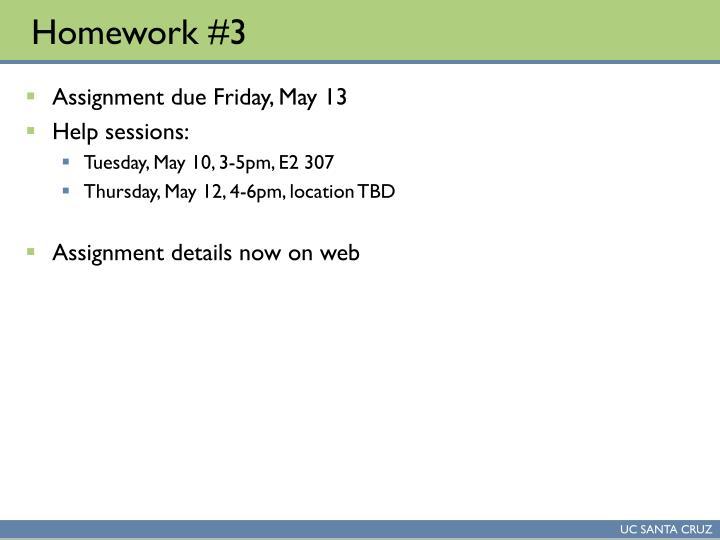 Homework 31