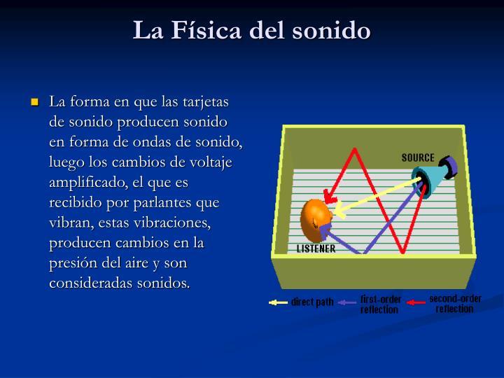 La Física del sonido