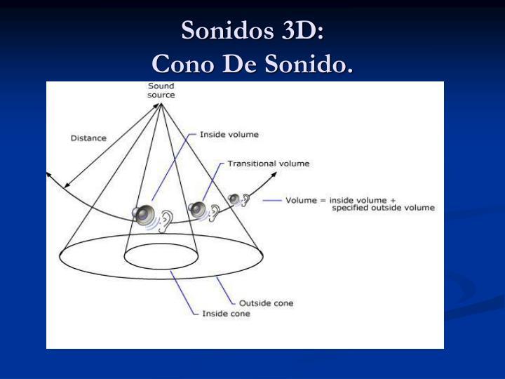 Sonidos 3D: