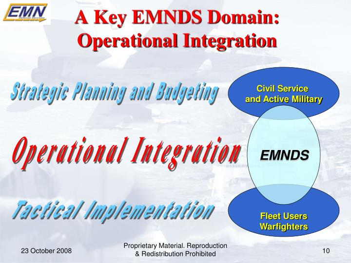 A Key EMNDS Domain: