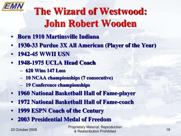 The Wizard of Westwood: