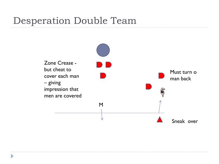 Desperation Double Team