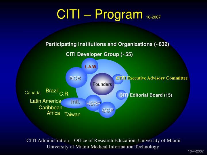 CITI – Program